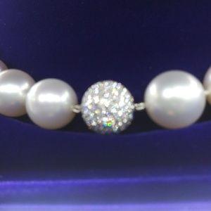 Diamonds Adorn Assael South Sea Pearls